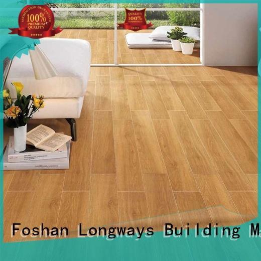 low price wood texture floor tiles sz158304 popular wood Hotel