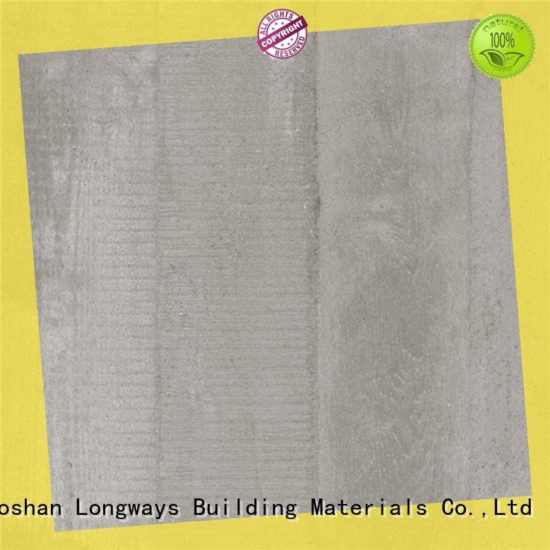 popular grey ceramic wood tile LONGFAVOR