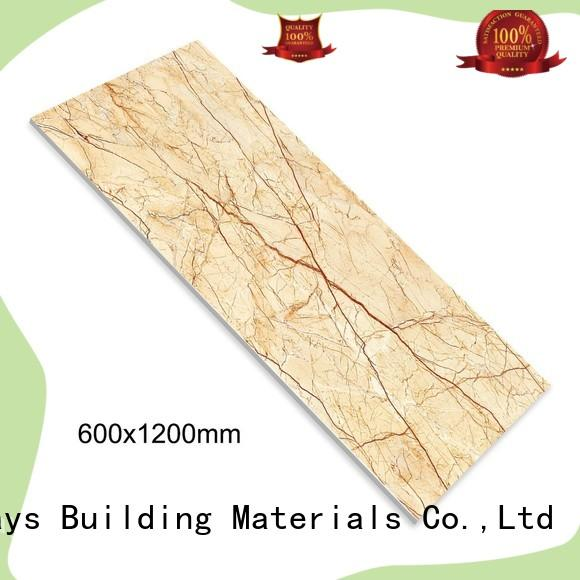 24x48 marble like porcelain tile strong sense Apartment