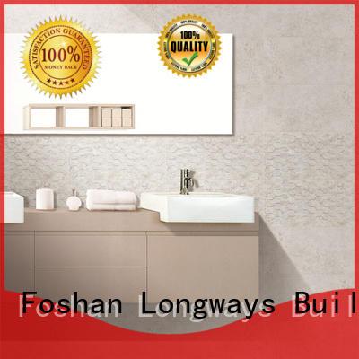 LONGFAVOR carrara Tile 300x600mm Ceramic Wall Tile bulk production Coffee Bars