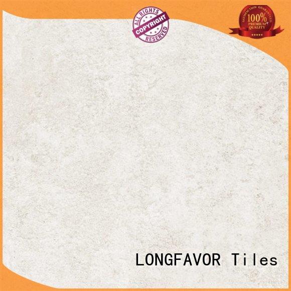 LONGFAVOR modern disign white cement tile on-sale Shopping Mall