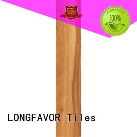 LONGFAVOR wooden wooden style floor tiles supplier Hotel