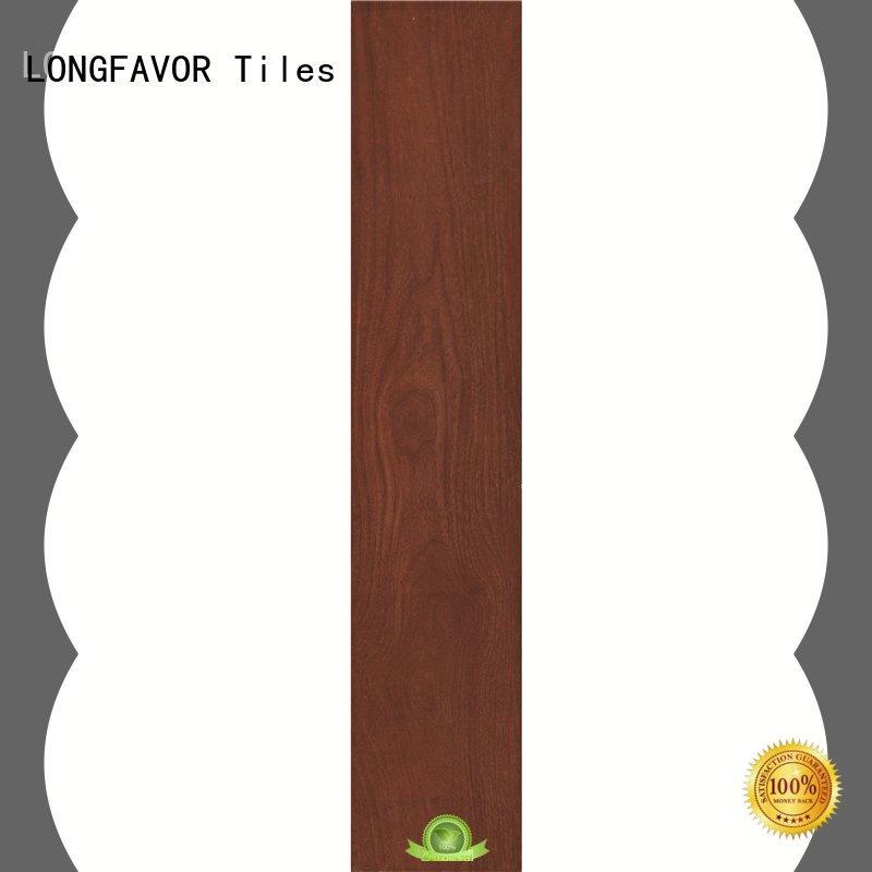 LONGFAVOR wooden wood effect outdoor tiles popular wood School