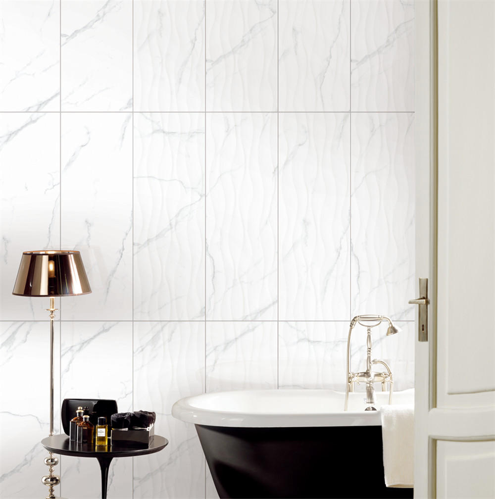 LONGFAVOR wave 300x600mm Ceramic Wall Tile bulk production Borders-1
