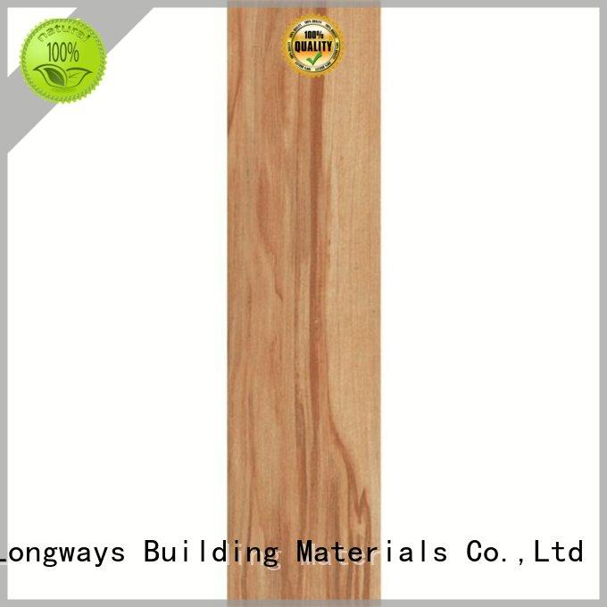 glossiness wood tile flooring cost 150x6006x24 high quality Shopping Mall