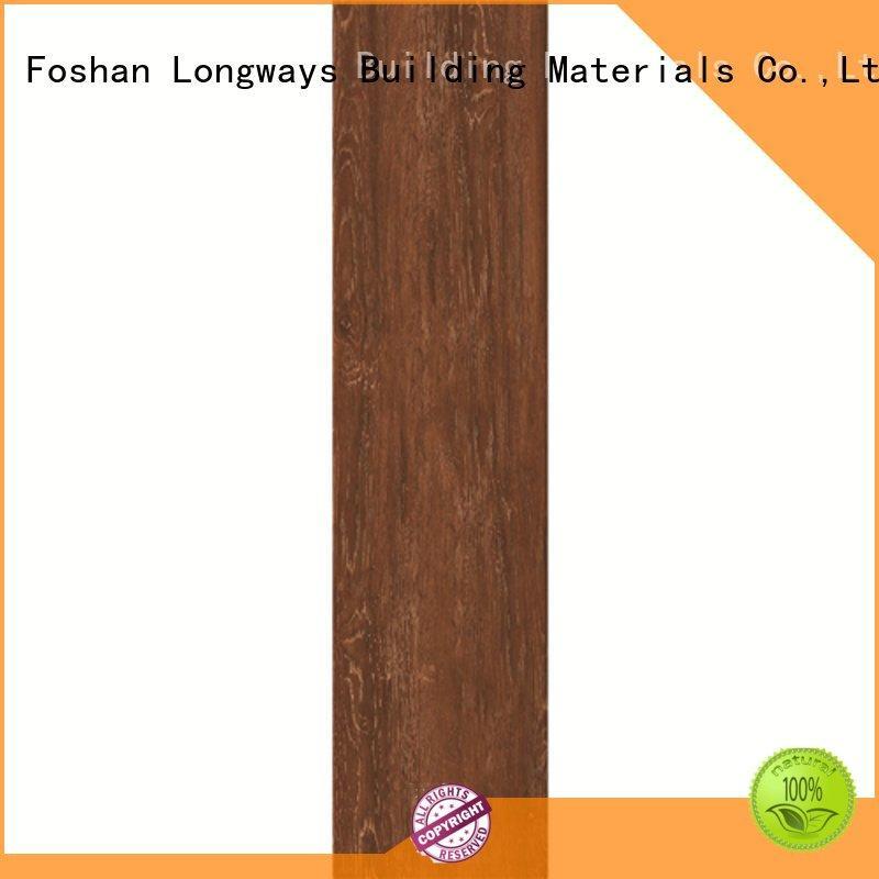 yello tile LONGFAVOR oak wood effect floor tiles