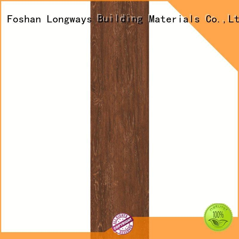 yello tile LONGFAVOR oak wood effect floor tiles