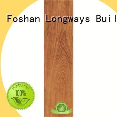 LONGFAVOR 150x600mm outdoor wood tiles free sample Super Market