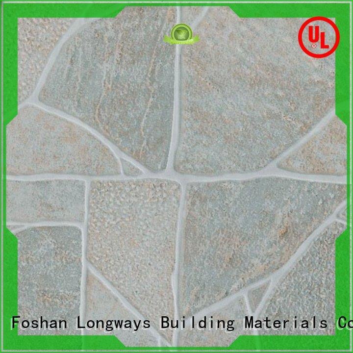 new design 300x300mm Ceramic Floor Tile ourdoor excellent decorative effect Hotel