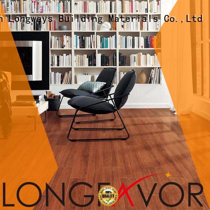 150x800mm Natural 3D Ink-jet Wood Flooring Brown Wood-look Ceramic Tile SZ158304-2