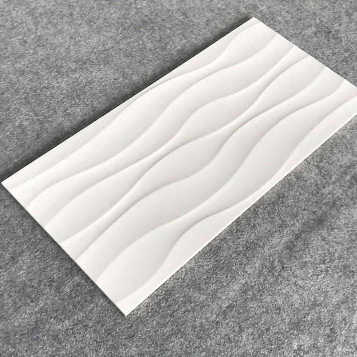 LONGFAVOR Ceramic Tiles 300x600mm Ceramic Wall Tile white Walls-2